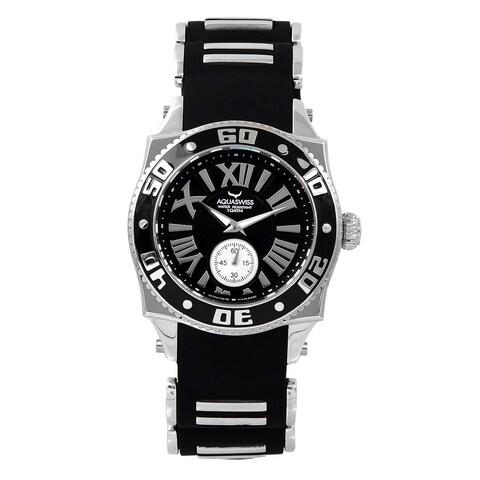 Aquaswiss Unisex Black Stainless Steel Swissport G Watch