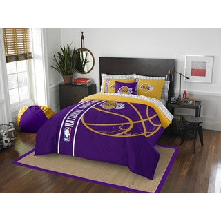 NBA Los Angeles Lakers Full 7-piece Bed in a Bag with Sheet Set