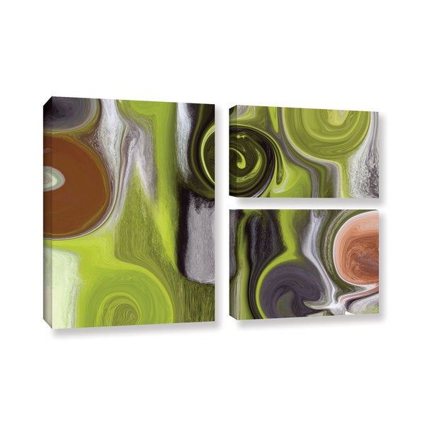 Irena Orlov's 'Remembrance' 3-piece Gallery Wrapped Canvas Flag Set