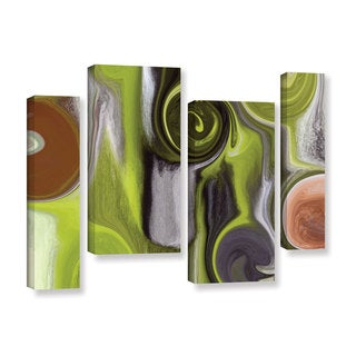 Irena Orlov's 'Remembrance' 4-piece Gallery Wrapped Canvas Staggered Set