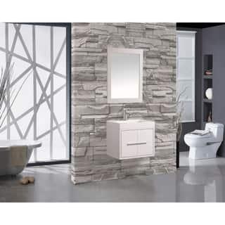 White Floating Bathroom Vanities Vanity Cabinets Online At Our Best Furniture Deals