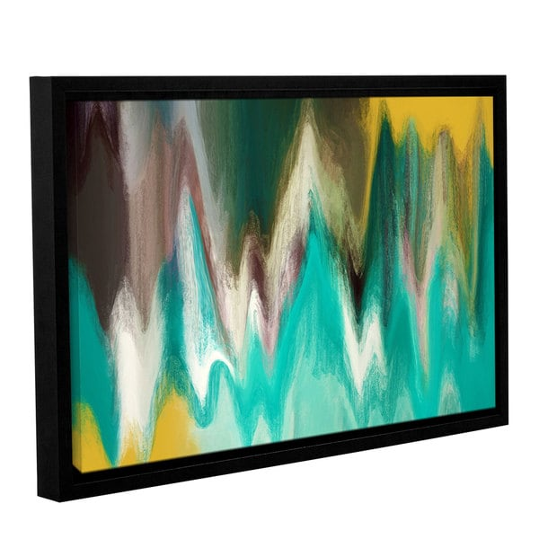 Irena Orlov's 'Tranquility' Gallery Wrapped Floater-framed Canvas