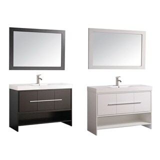 Cypress 48-inch Single Sink Modern Bathroom Vanity Set