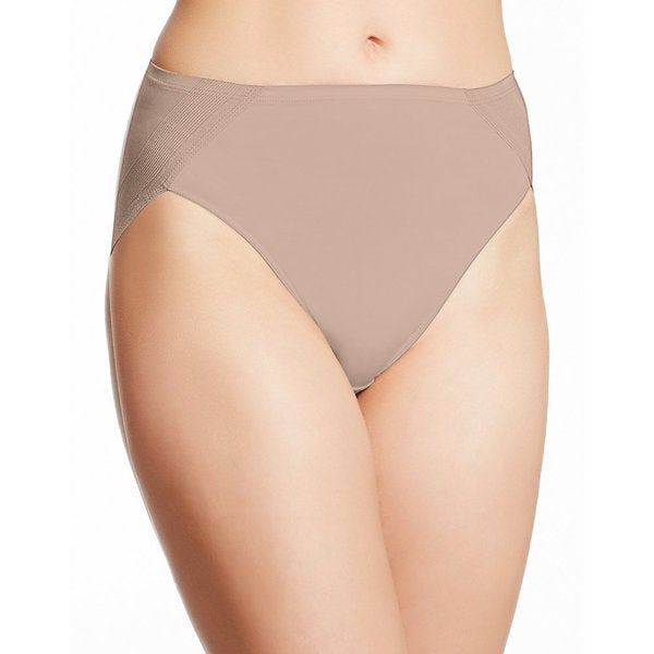 9fb2b1973b63 Shop Bali Women's One Smooth Nude Nylon/Spandex/Cotton U Ultra Light ...