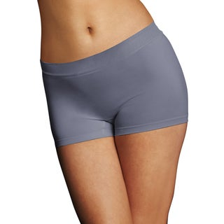 Pure Genius Women's Rising Smoke Seamless Boyshort