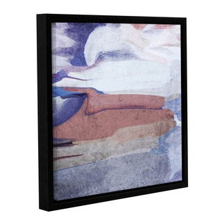Irena Orlov's 'A Winter Poem' Gallery Wrapped Floater-framed Canvas