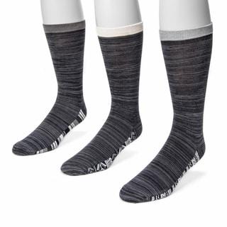 Muk Luks Men's Marled 3-pair Sock Pack