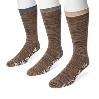 Muk Luks Men's 3-pair Sock Pack
