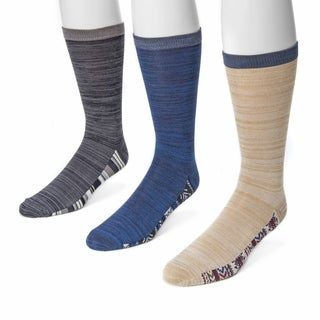 Muk Luks Men's Marled Socks (Pack of 3)