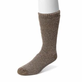 MUK LUKS Men's 1-Pair Heat Retainer Thermal Socks