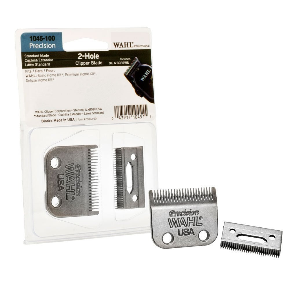 Wahl Clipper 1045100 2-hole Replacement Clipper Blades