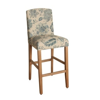 HomePop Lexie 29-inch Bar Height Curved Top Barstool
