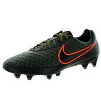 Nike Men's Magista Orden Fg Black/Black/Rgh G/ Crmsn Soccer Cleat