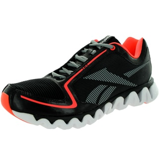 Reebok Men's Ziglite Run Black/Vitamin C/Flt /White Running Shoe