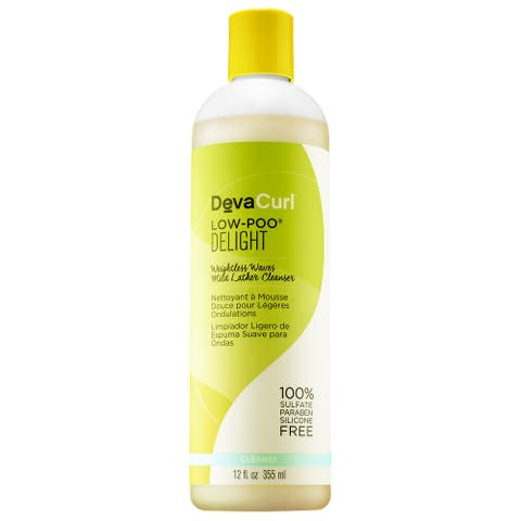 DevaCurl Delight 12-ounce Low-Poo Hair Lather