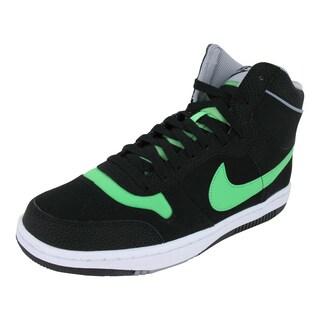 Nike Sky Team '87 Mid Blackreen/Stdm /White Basketball Shoes