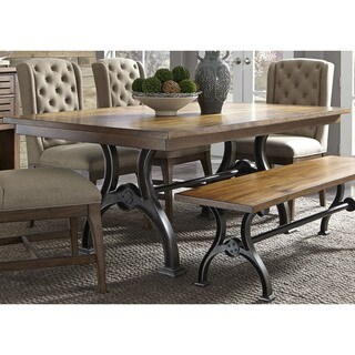 Arlington House Cobblestone Brown Dinette Table