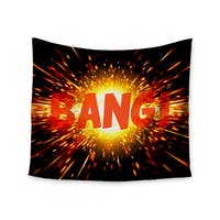 Kess InHouse KESS InHouse 'Bang' 51x60-inch Wall Tapestry