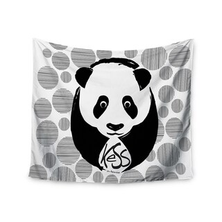 Kess InHouse KESS InHouse 'Panda' 51x60-inch Wall Tapestry