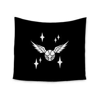 Kess InHouse Jackie Rose 'Golden Snitch' 51x60-inch Wall Tapestry