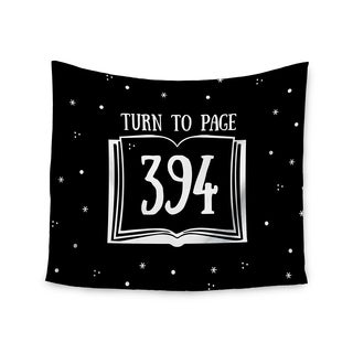 Kess InHouse Jackie Rose 'Turn To Page 394' 51x60-inch Wall Tapestry