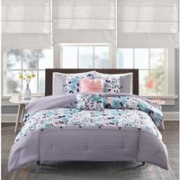 Intelligent Design Tiffany Blue 5-piece Reversible Comforter Set