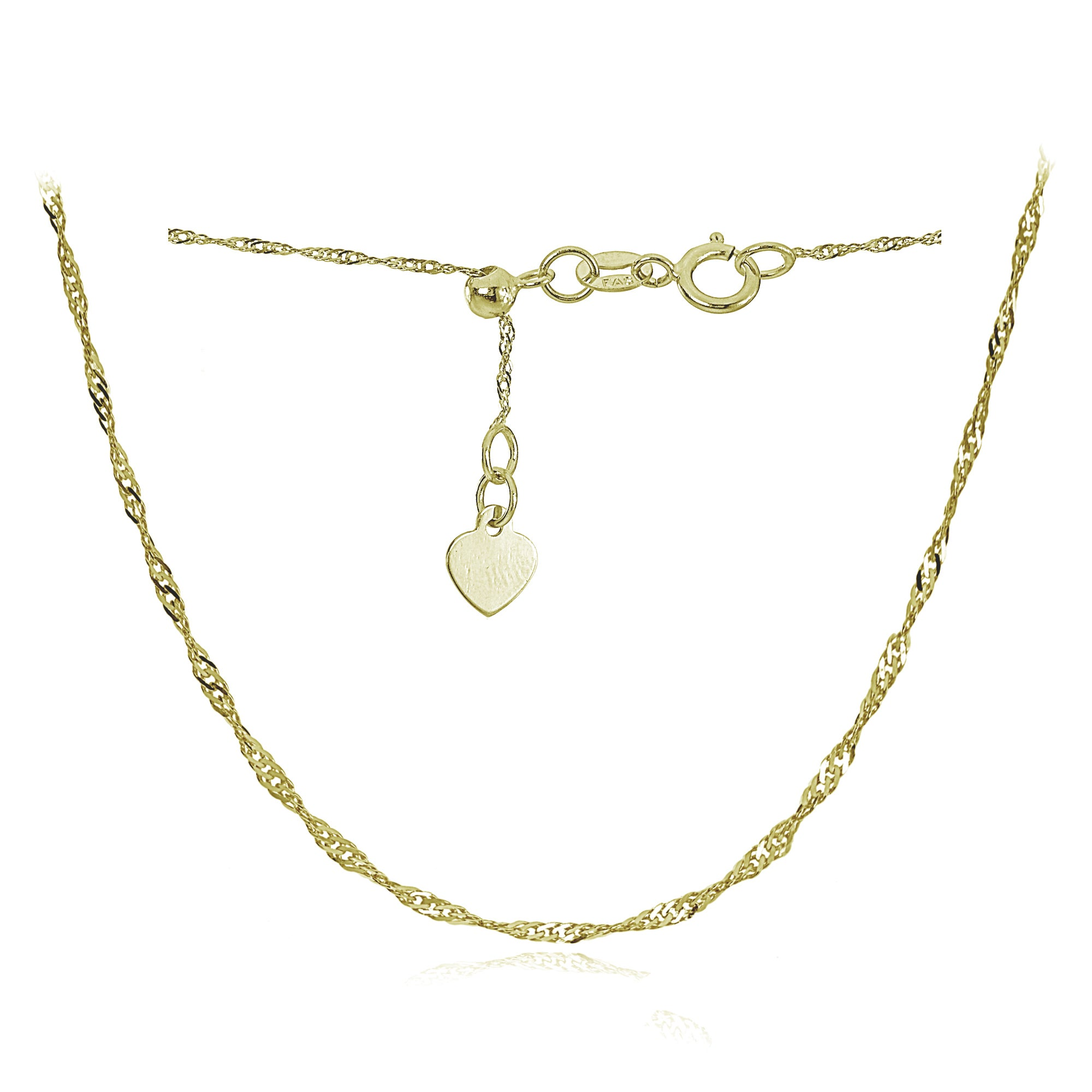 """14k Yellow Gold Figaro Chain Necklace Italy Solid Link 0.9mm 16/"""" 18/"""" 20/"""""""
