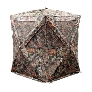 Primos Club Mossy Oak Break-up Country Camoflagued DuraMatte HD Fabric Ground Blind