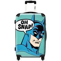iKase Batman Oh snap  ,Carry-on 20-inch,Hardside, Spinner Suitcase