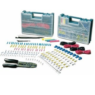 Power Products Ancor Multicolor Plastic 225-piece Electrical Repair Kit