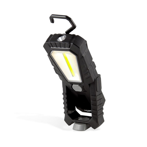 LuxPro 374 Broadbeam Worklight, 180 Lumens, Black