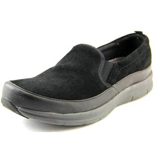 Easy Spirit e360 Women's Sammi Black Suede Regular Athletic