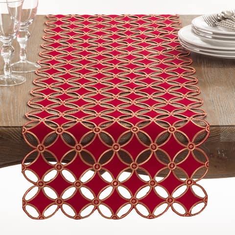 Buche de Noel Collection Holiday Design Table Runner
