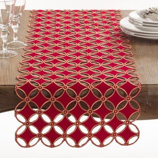 Buche de Noel Collection Holiday Cutwork Design Table Runner|https://ak1.ostkcdn.com/images/products/12137067/P18993646.jpg?impolicy=medium