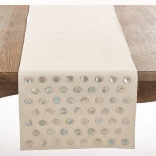 Mother of Pearl Design Table Runner