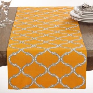Dastan Collection Stitched Lattice Design Table Runner