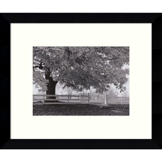 Jim Morris 'Autumn Morning' 11 x 9-inch Framed Art Print