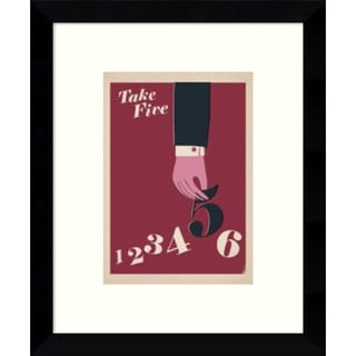 Anthony Peters 'Take Five' 9 x 11-inch Framed Art Print