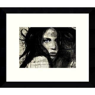 Loui Jover 'Arcadia' 11 x 9-inch Framed Art Print