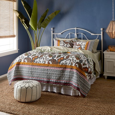 Greenland Home Fashions Orleans 3-piece Quilt Set