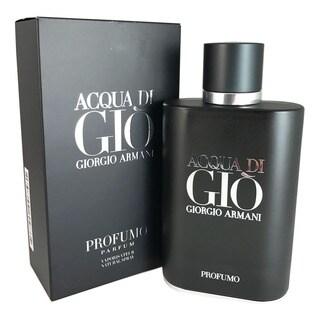 Giorgio Armani Acqua di Gio Profumo Men's 4.2-ounce Parfum Spray