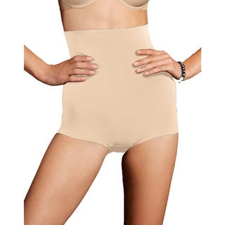 Sleek Smooth Women's Smoothers Hi-waist Paris Nude Boyshort