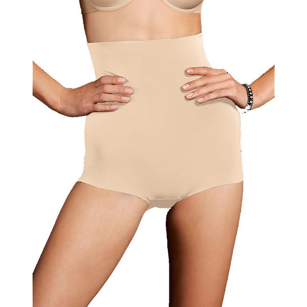572c8d82453 Shop Sleek Smooth Women s Smoothers Hi-waist Paris Nude Boyshort ...