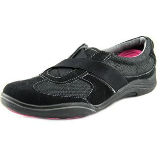 Grasshoppers Women's View Alt Closure Black Suede Regular Athletic Shoes