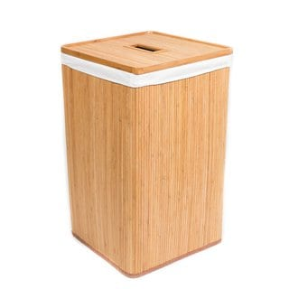 BirdRock Bamboo Home Laundry Hamper