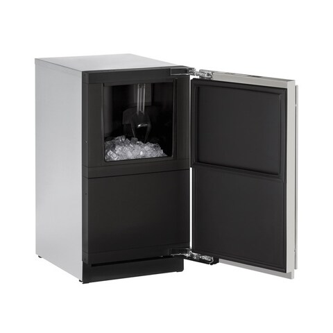 U-Line 3000 Series 3018 18-inch Integrated Clear Ice Maker with Pump