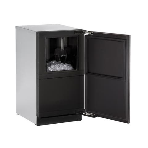 U-Line 3000 Series 3018 18-inch Integrated Clear Ice Maker with Out Pump