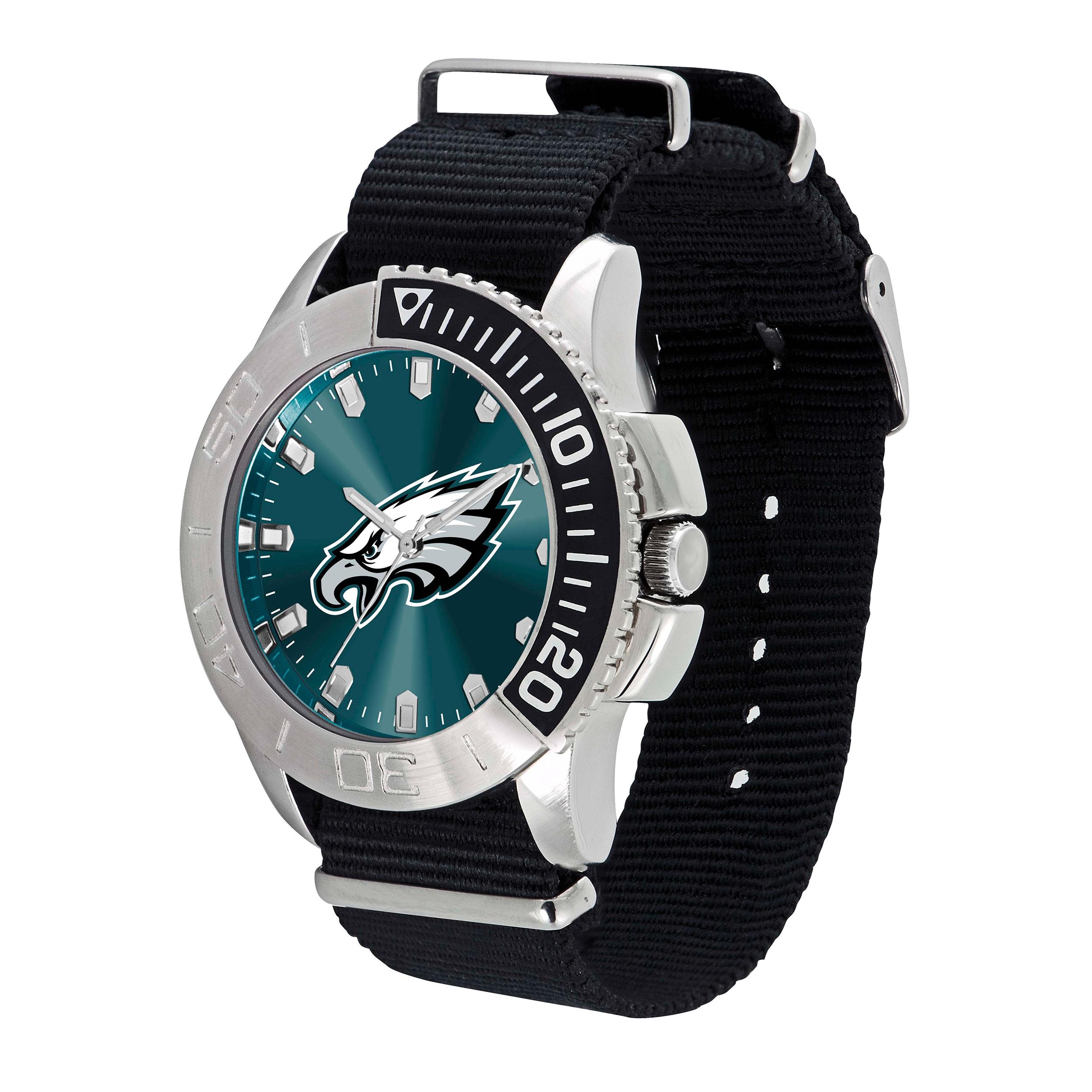 Gametime Philadelphia Eagles NFL Starter Men's Watch (1),...