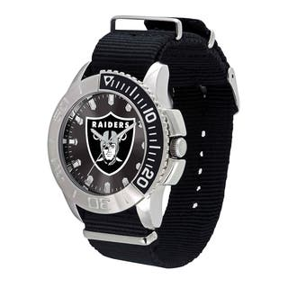 Oakland Raiders NFL Starter Men's Watch|https://ak1.ostkcdn.com/images/products/12137238/P18993793.jpg?impolicy=medium