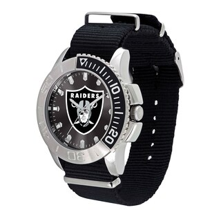 Oakland Raiders NFL Starter Men's Watch